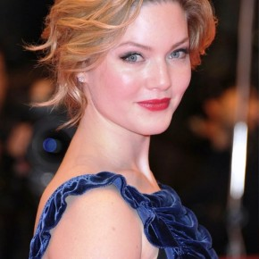 Holliday Grainger Wavy Curly Updo For Short Hair