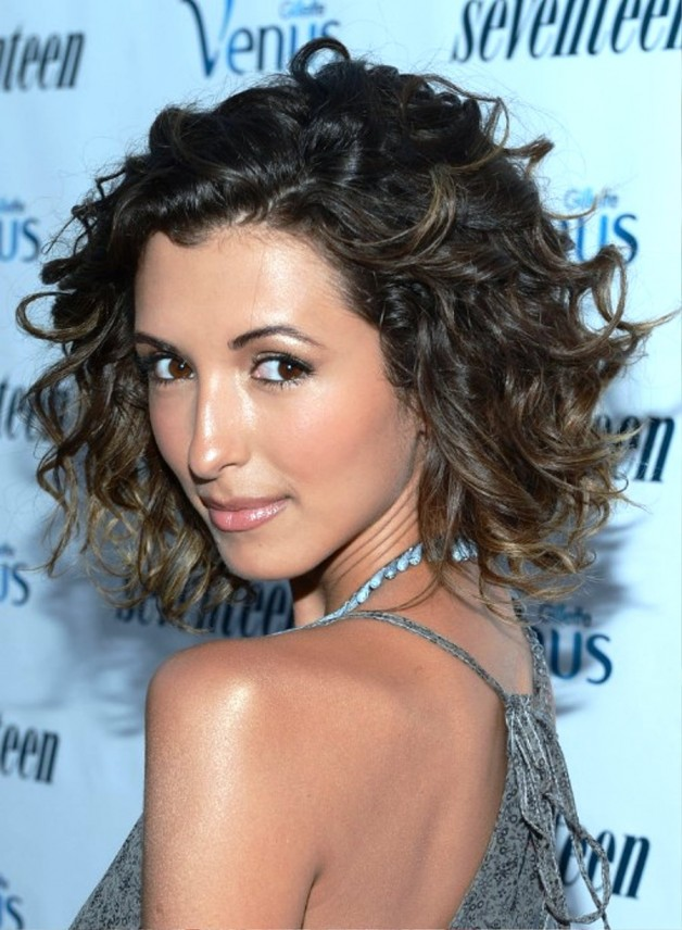 India De Beaufort Short Curly Ombre Hair