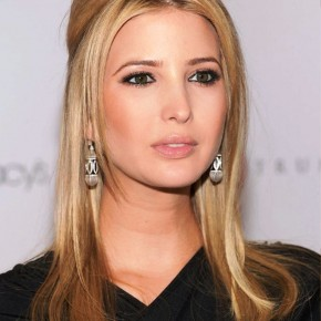 Ivanka Trump Long Sleek Blonde Hairstyle