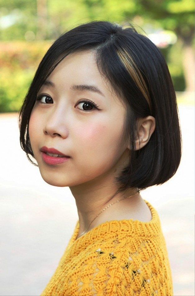 Japanese A Line Bob Hairstyle For Short Hair