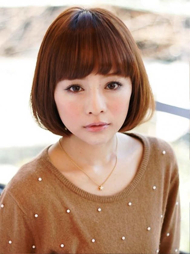 Japanese Bob Hairstyle For Girls