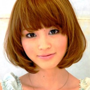 Japanese Bob Hairstyle For Summer