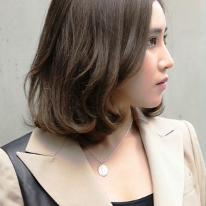 Japanese Brown Hairstyle For Short Hair