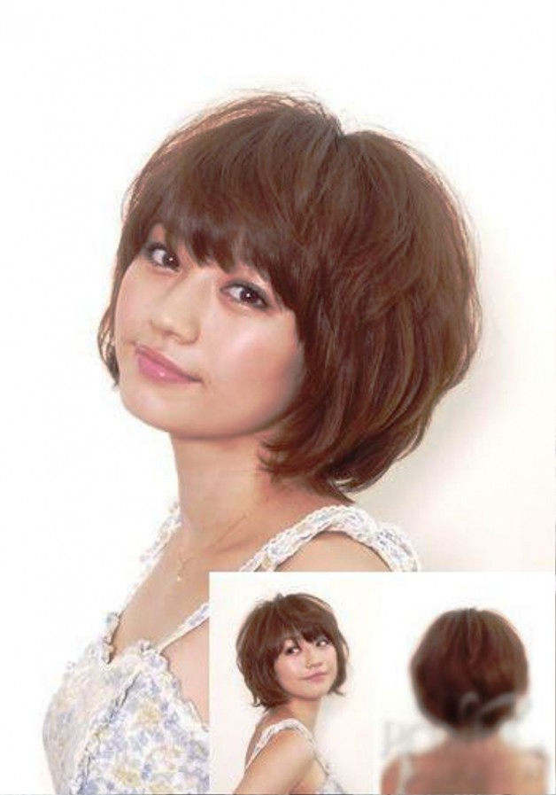 Japanese Short Bob Hairstyle Behairstyles Com