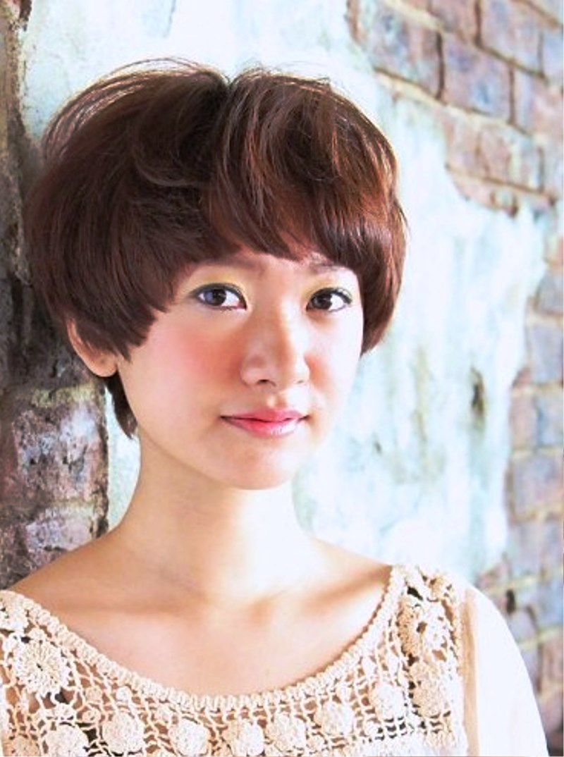 jerry curl hairstyle : Pictures of Japanese Short Haircut With Bangs