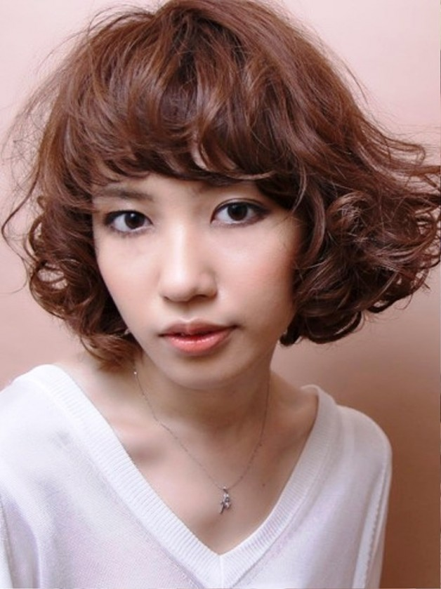 Japanese Wavy Hairstyle Behairstyles Com