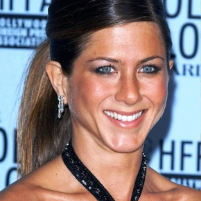 Jennifer Aniston Sleek Ponytail