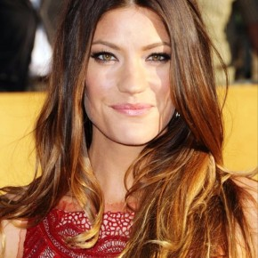 Jennifer Carpenter Casual Long Brown Hairstyle