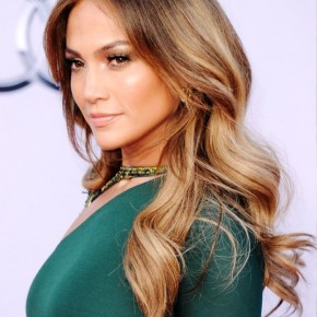 Jennifer Lopez Long Sleek Hairstyle