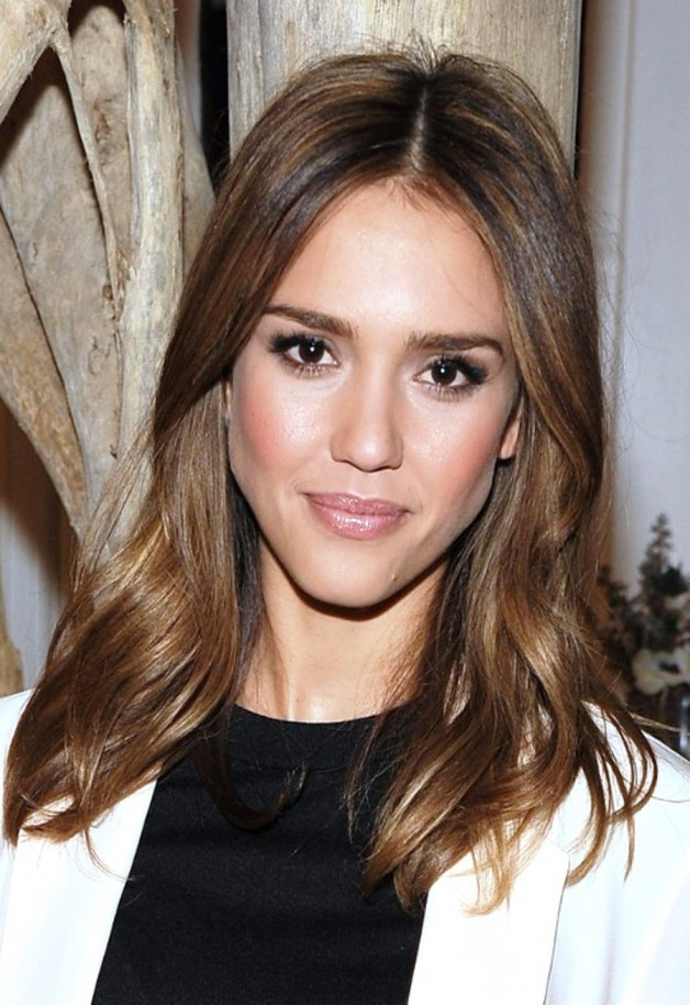 Jessica Alba Long Hairstyle