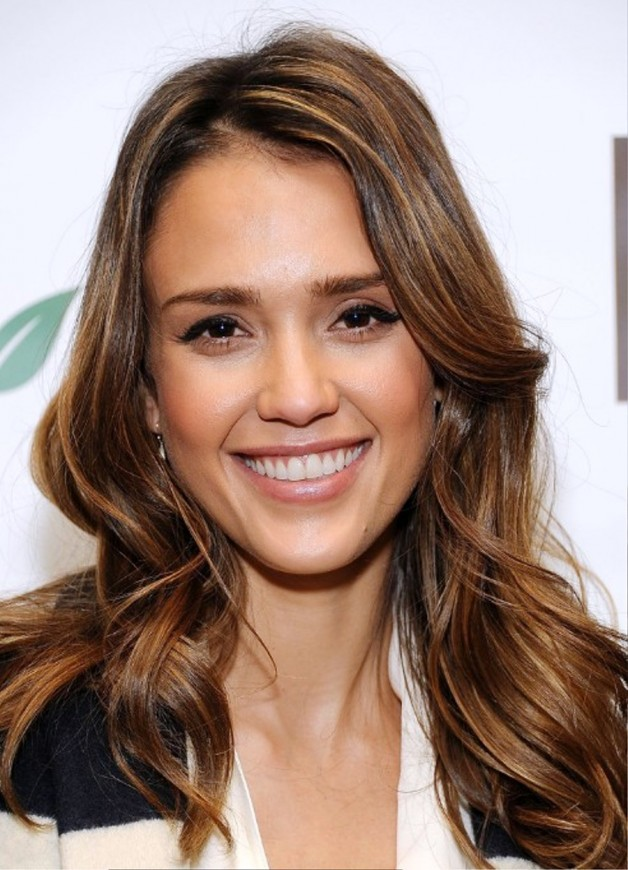 Jessica Alba Long Hairstyles