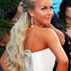 Julianne Hough Half Up Half Down Wedding Hairstyles