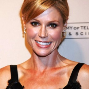 Julie Bowen Cute Casual Bun With Side Swept Bangs
