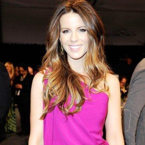 Kate Beckinsale Long Straight Hairstyle 1