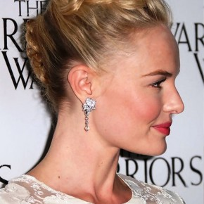 Kate Bosworth Braided French Twist