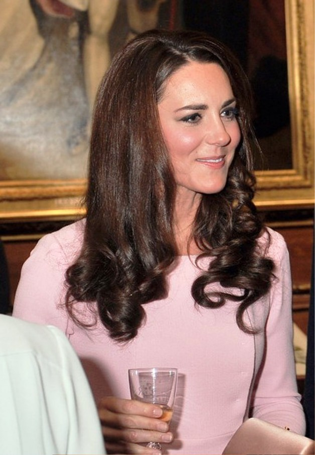 Kate Middleton Long Curly Hairstyle
