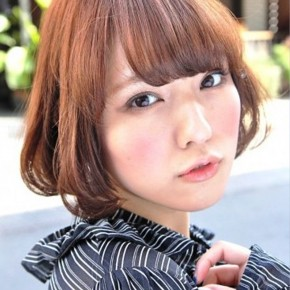 Kawaii Short Japanese Hairstyle