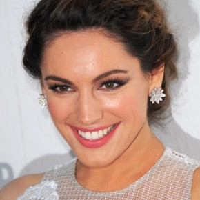 Kelly Brook Braided Updo 2013