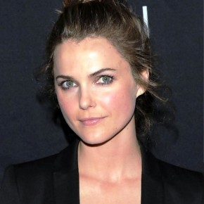 Keri Russell Messy Bun Updo Hairstyle