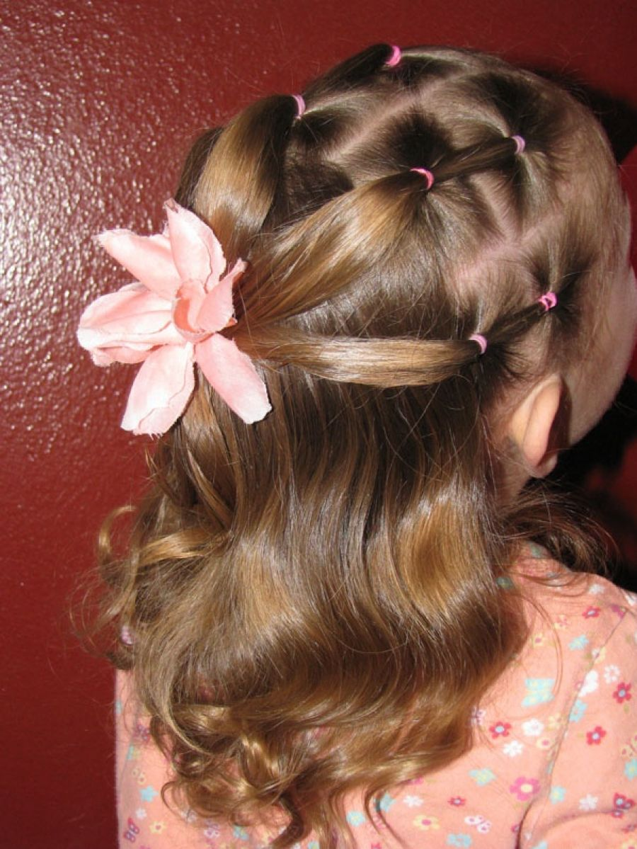 Pictures Of Kids Hairstyles Ponytails