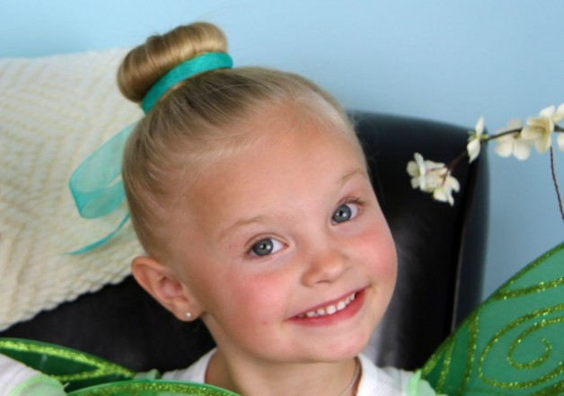 Kids Hairstyles With Ribbon