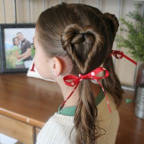 Kids Valentine Hairstyles