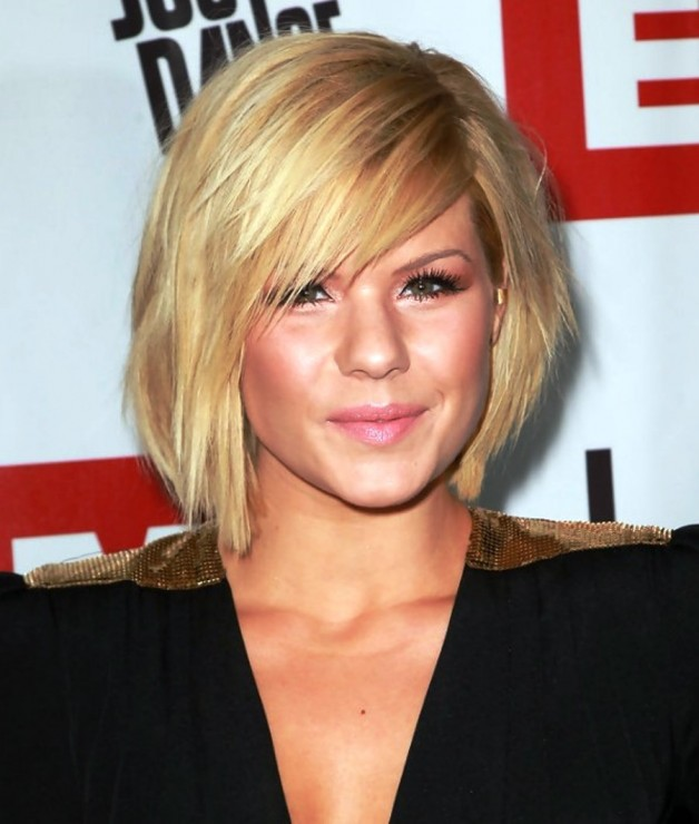 Kimberly Caldwell Short Bob Hairstyle Behairstyles Com