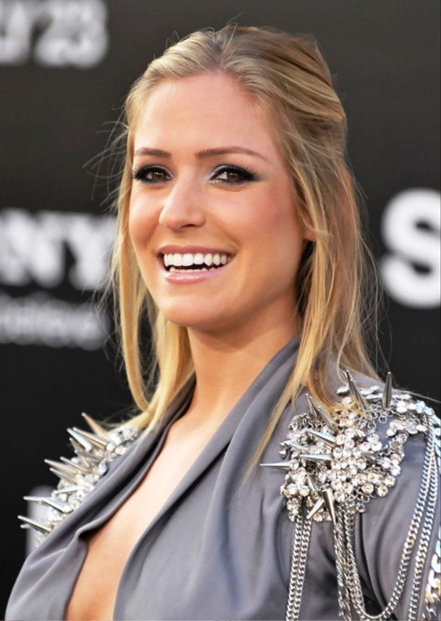 Kristin Cavallari Half Up Half Down For Medium Length Hair