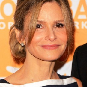 Kyra Sedgwick Loose Casual Updo For Prom