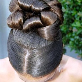 Latest Elegant African American Wedding Hairstyles