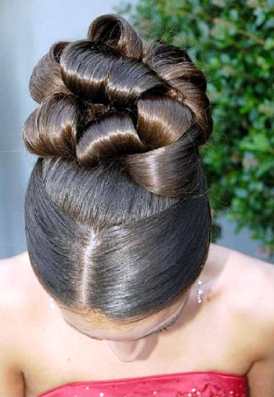 Latest Elegant African American Wedding Hairstyles Pictures