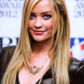 Laura Whitmore Cute Long Braided Hairstyle 2013