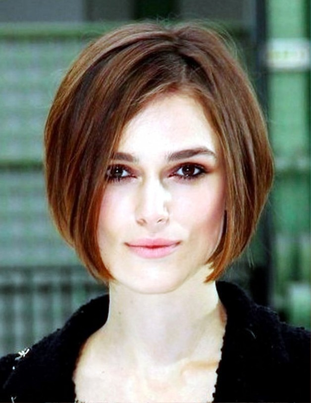 Layered Angled Bob Hairstyles