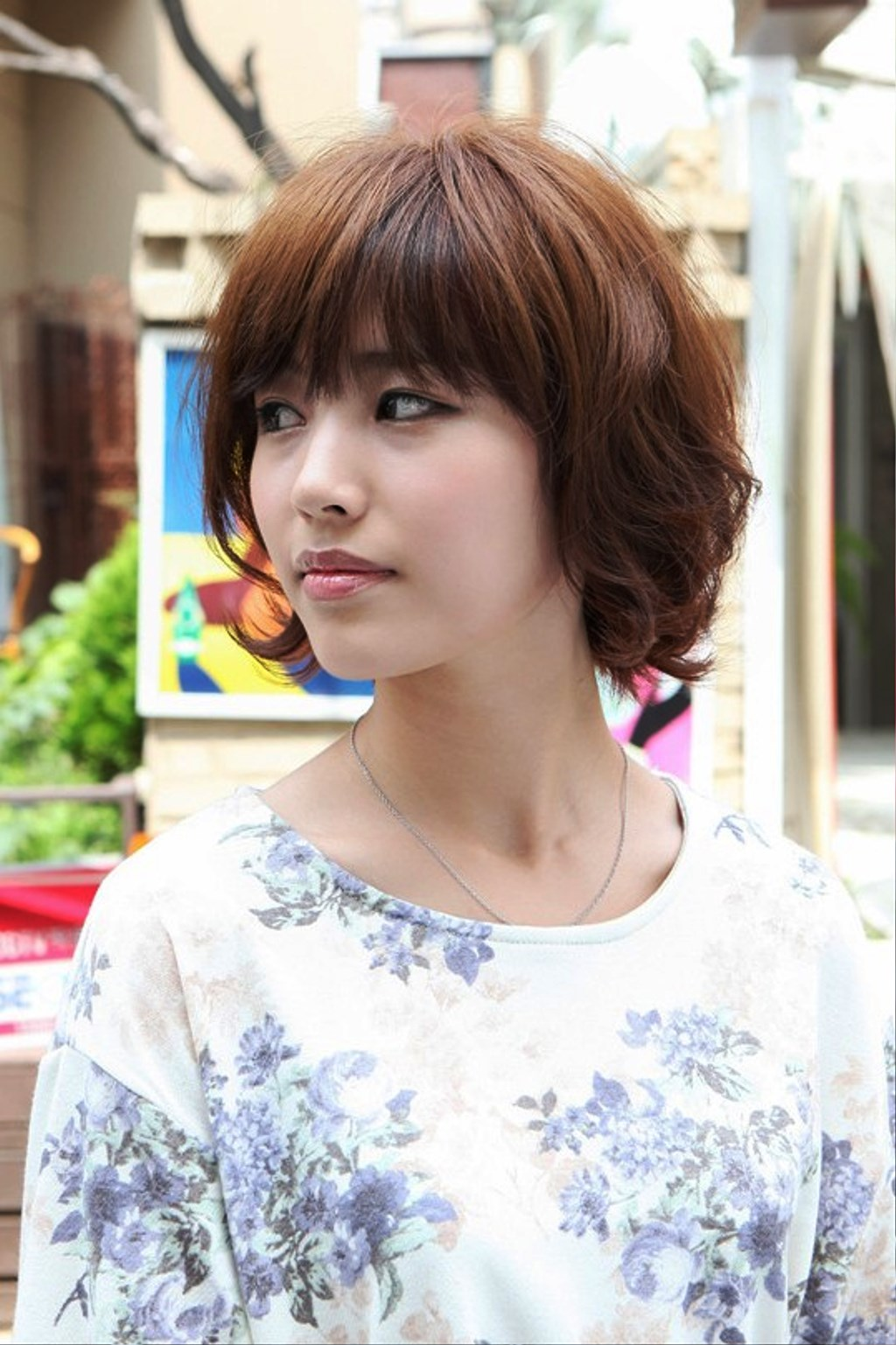 Pictures of Layered Short Asian Bob Haircut
