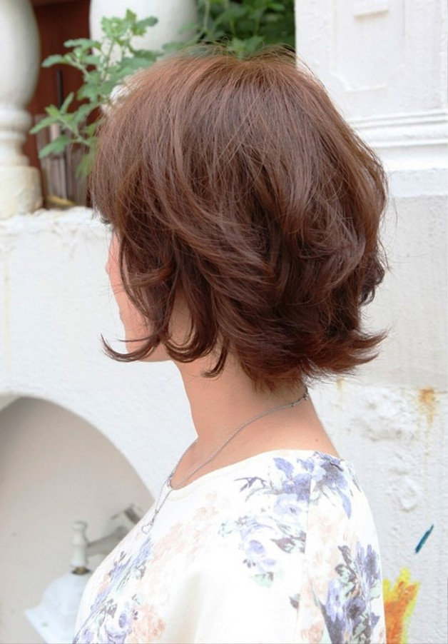 Layered Short Bob Hairstyle For Women Behairstyles
