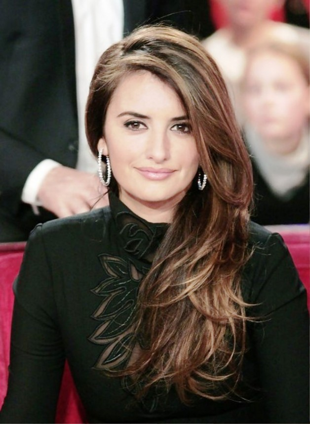 Layered Side Part Hairstyle