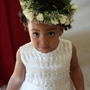 Little Black Girls Hairstyles for Weddings
