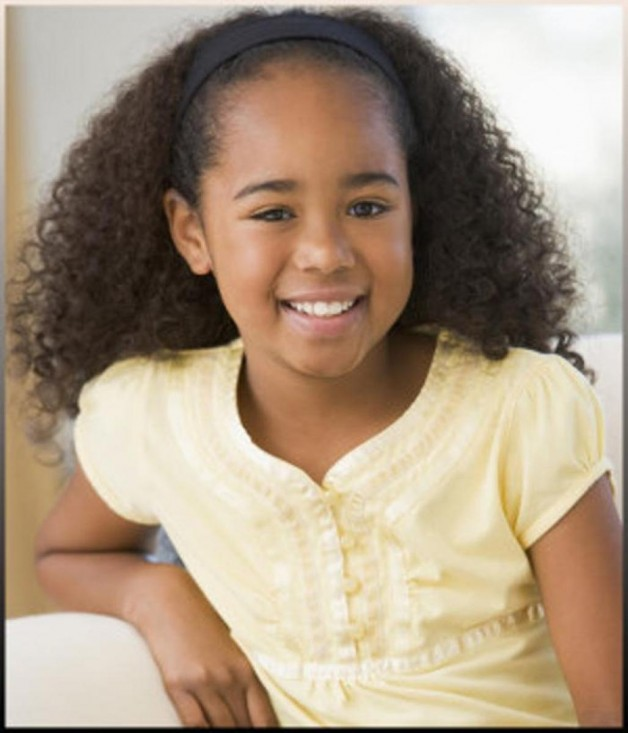 Little Black Girls Hairstyles with Curls