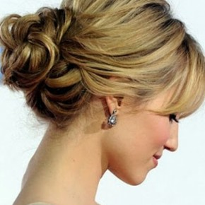 Long Bob Hairstyles Updo