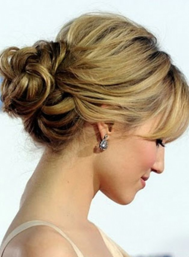 Long Bob Hairstyles Updo Behairstyles Com