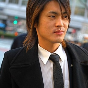 Long Hair Asian Men