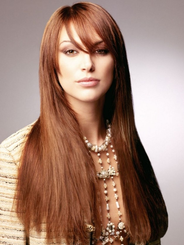 Long Hair V Cut Behairstyles Com