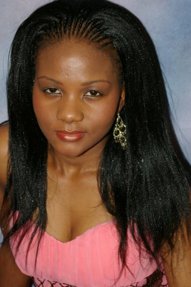 Long Black Hairstyles with Weave
