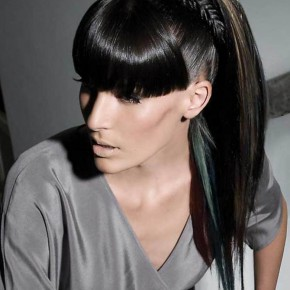 Long Black Ponytail Hairstyles