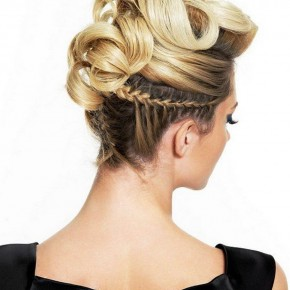 Long Blonde Party Hairstyles 2013