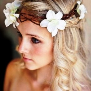 Long Bridal Hairstyles 2013 For Cute Blonde