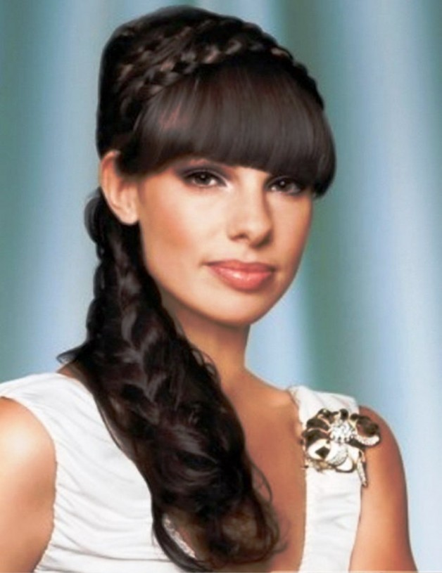 Long Bridal Hairstyles 2013 With Cool Braids
