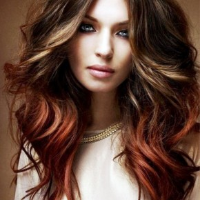 Long Hairstyles Colored For Wavy Hair
