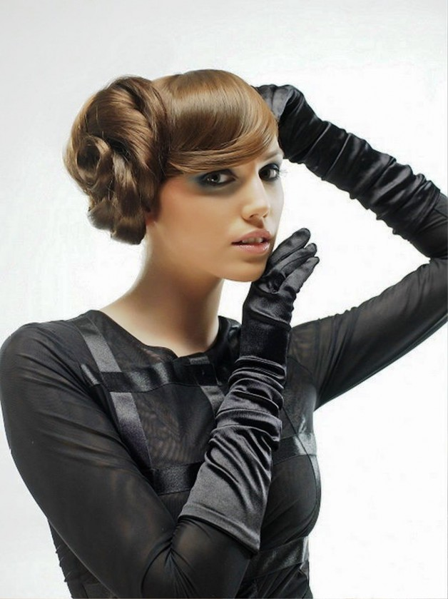 Long Hairstyles For A Party 2013