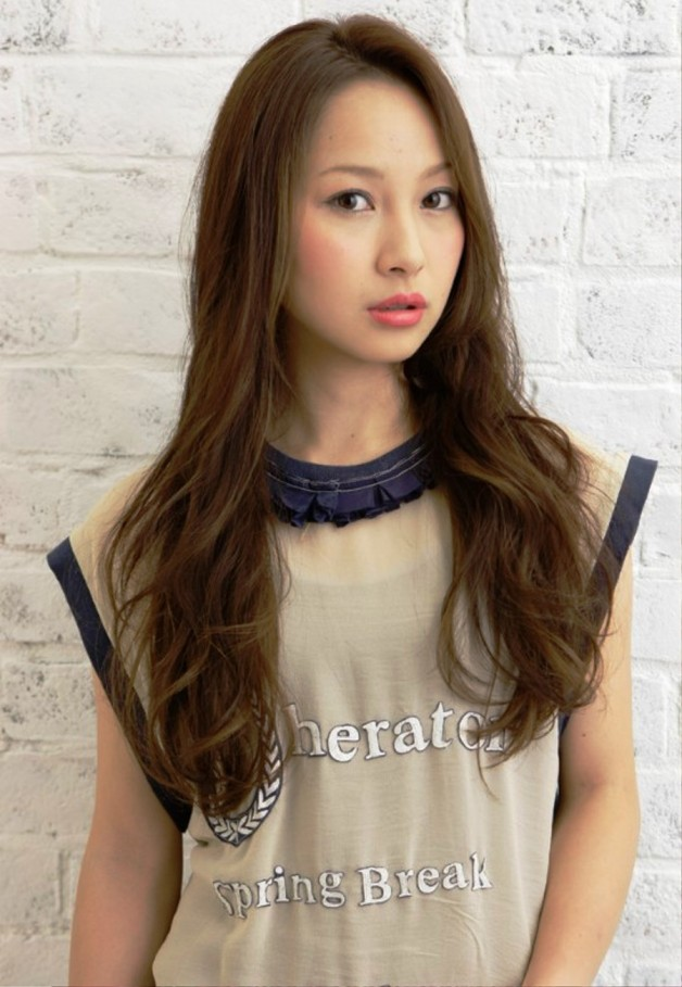 Long Japanese Hairstyle